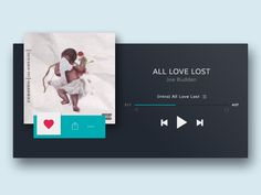Daily UI - Day 9: Music Player