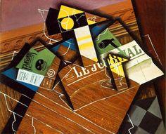 Le cubisme - Juan Gris - Fantomas (1913)