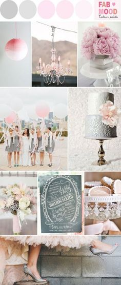 Trendy wedding themes vintage chic color schemes Ideas