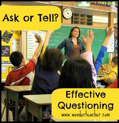 Do you fall in the too-many-questions trap? Great tips in this post for effective questioning.