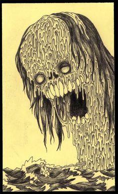 john kenn | gorey draws lovecraft John Kenn Mortensen