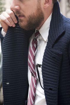 Sweater instead of a blazer