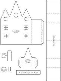 più 100 case diverse da stampare e creare