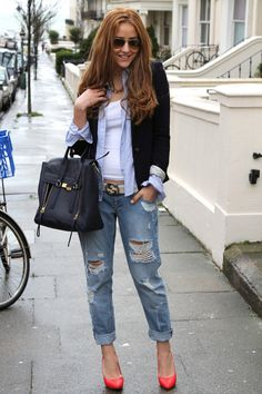 Again, how cute is this outfit?  ....Boyfriend Jeans Inspiration Album - Imgur