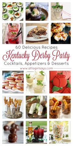 Plan the ultimate Kentucky Derby party with this collection of traditional southern recipes. Learn now to make classic cocktails, like the mint julep, plus other boozy and virgin libations, as well as savory snacks and appetizers and chocolate and bourbon-soaked desserts.