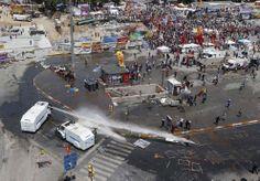 Riot Police Retake Istanbul's Taksim Square - In Focus - The Atlantic