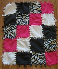 1000+ images about No Sew Baby Blankets on Pinterest No sew baby, Fleece blankets and Blankets