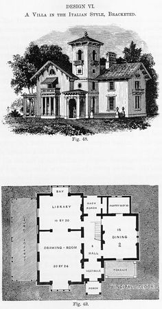 Andrew Jackson Downing - Victorian Gothic Cottage