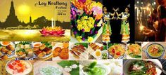 イベント&パーティー: 秋スペシャルの本格的なタイダイニングパーティーとローイクラトン祭りの紹介   ようこそロマンチックな...