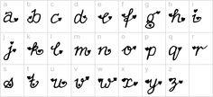 FullofHearts | Curly Fonts, cute fonts, handwritten fonts, for ...