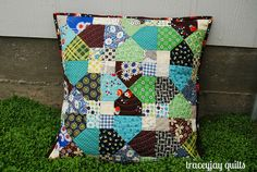 Pillow Talk Swap pillow! by traceyjay, via Flickr