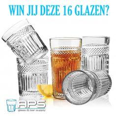 Bestellen kan nu ook online, super snel en makkelijk via onze webwinkel. Onder onze nieuwkomers verloten we deze week een Libbey Glass Radiant Giftpack, een set van 16 elegante Radiant glazen: 8 rocks a 355 ml en 8 coolers a 474 ml.  Win jij deze 16 glazen? Maak nu alvast een account aan op www.apssupply.nl, pin dit bericht en misschien ben jij wel de gelukkige eigenaar van deze mooie glazen!  #cocktail #glas #win #mixology #bar #aps #restaurant #hotel #nederland #amsterdam