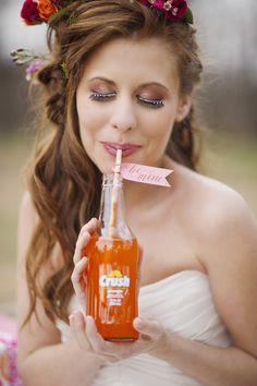 Valentine-Citrus themed wedding |  melissa mccrotty photography