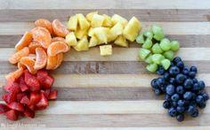 Rainbow Fruit Dessert