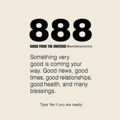 Angel Number Meanings, Angel Numbers, Spiritual Awakening, Spiritual Quotes, Spiritual Meditation, Spiritual Prayers, Money Affirmations, Positive Affirmations, 888 Meaning