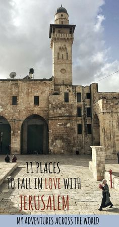 There are some beautiful places in Jerusalem, some hidden gems that most travelers never get to see. Here's a few of the nicest places to visit in Jerusalem | #jerusalem #israel
