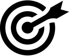Maybe something like this. A target icon but with the arrow not on the bullseye so it missed. Maybe also there's a way there to incorporate the 'C' of complicity.