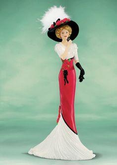 "coca cola lady figurine | Coca-Cola - ""Elegance of Coca Cola"" - ... | Coca Cola Memorabilia"