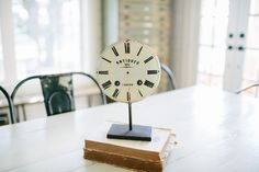 Decorative Antique Clock   The Magnolia Market