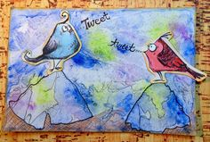 Two Crafting Sisters: Tim Holtz