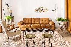 Midcentury design. Home designed by Eric Navazo. Photo: Manolo Yllera for AD Spain