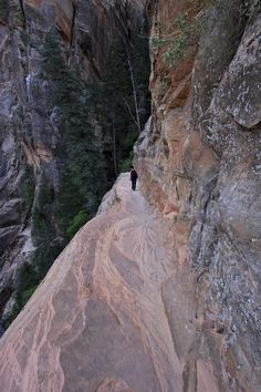 Hidden Canyon Trail - Zion National Park, Utah (no way)!