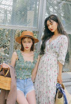 korea daily style #stylenanda2017 Jungha&Sora