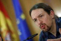 Pablo Iglesias, el pasado viernes en Madrid.. a la mierda con este hi.........pu..........