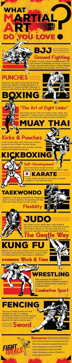 WHAT MARTIAL ART DO YOU LOVE?