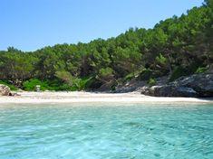 Cala Fustam, Minorque - îles Baléares (Espagne)