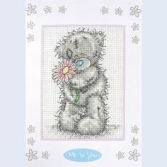 For You - Me To You - Tatty Teddy - counted cross stitch kit Coats Crafts