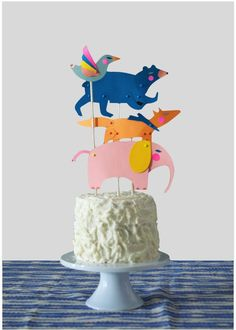 12 Simple Chic DIY Cake Toppers Birthdays Pinterest Diy