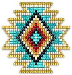 Native Style Rainbow Sunburst