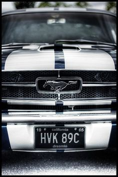 1965 Classic Ford Mustang - The one and only Pony Car.
