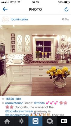 The kitchen i want