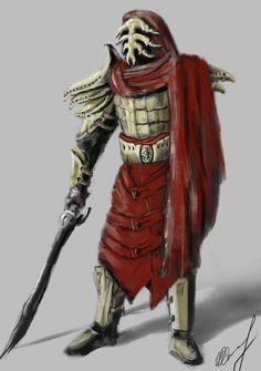 Redoran Master by Jurko-S on DeviantArt Monster Concept Art, Alien Concept Art, Concept Art World, Armor Concept, Fantasy Armor, Dark Fantasy, Fantasy Inspiration, Character Design Inspiration, Skyrim Lore