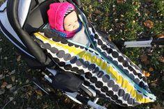 Vauvan makuupussin päällystäminen