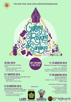 Gotong Royong di Suroloyo | program ketjilbergerak bersama teman-teman Suroloyo | workshop wayang suket