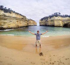 Uma foto pra descrever pelo menos um pouco desse lugar q nunca vou esquecer !  #greatoceanroad #trip #oz #gopro #goprohero4 #paradise #viagempelomundo #Australia by leandrolima42