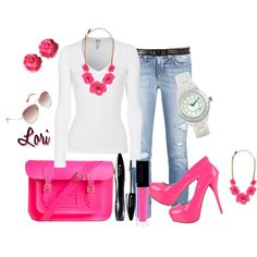 Love, I would have to wear different pink shoes tho