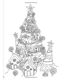 Creative Christmas Tree Colouring Book: A collection of classic & contemporary Christmas trees to colour: Amazon.co.uk: Christina Rose: 9781910771471: Books