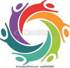 EPS Vector of Happy Children People Logo Vector Design Graphic... csp50204848 - Search Clip Art, Illustration, Drawings and Clipart Vector Graphics Images