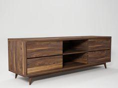 VINTAGE TV cabinet by KARPENTER design Hugues Revuelta