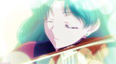 don't make me deep submerge you; Sailor Neptune, Sailor Moon, Deep Sea, Moonlight, Blues, Ocean, Crystal, Pretty, Anime