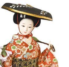 Muñeca japonesa tradicional.