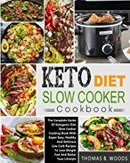[Cookbooks & Food & Wine][Free] Keto Diet Slow Cooker Cookbook: The Complete Guide of Ketogenic Diet Slow Cooker Cooking Book with Super Easy, Healthy and Delicious Low Carb Recipes to Lose Weight Fast and Better Your Lifestyle Crock Pot Slow Cooker, Slow Cooker Recipes, Low Carb Recipes, Diet Recipes, Low Carb Cheesecake, Blueberry Cheesecake, Cooking Appliances, Kitchen Appliances, Cookbook Recipes