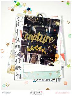 Minialbum - Scrapbook Werkstatt November Kit 2015 - designed by Alexandra Boehnke (Tandi-Works)