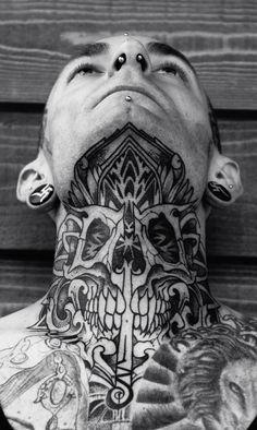 Skull Mandala neck piece
