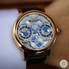 """""""Celebrate the magic of the Holiday Season with the Bovet Récital 17, the timepiece for the gentleman traveller."""""""