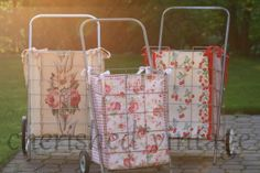 ladies.cherished*vintage: Not Your Granny's Cart Anymore